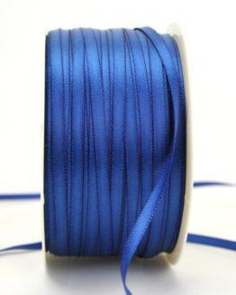 Satinband 3mm, uni königsblau - sonderangebot, satinband-budget, satinband