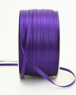 Satinband 3mm, uni lila - sonderangebot, satinband-budget, satinband
