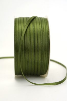Satinband 3mm olive Low Budget (4031903-03-112)
