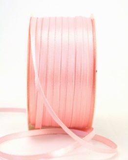 Satinband 3mm, uni rosa - satinband-budget, sonderangebot, satinband