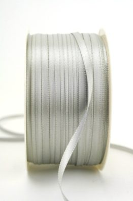 Satinband 3mm silbergrau Low Budget (4031903-03-127)