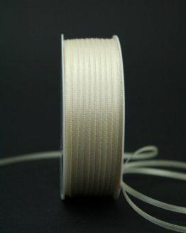 Doppelsatinband creme, 3 mm breit - hochzeitsbaender