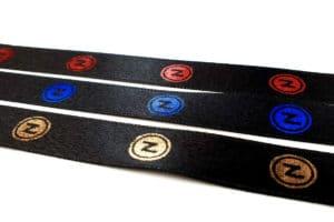 Satinbänder jetzt mit Metallicfarben bedrucken - personalisierte-bander