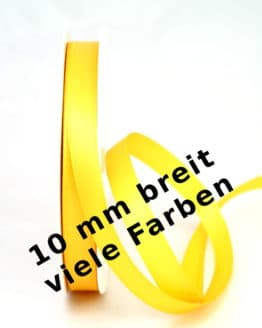 Satinband 10 mm - dauersortiment, satinband