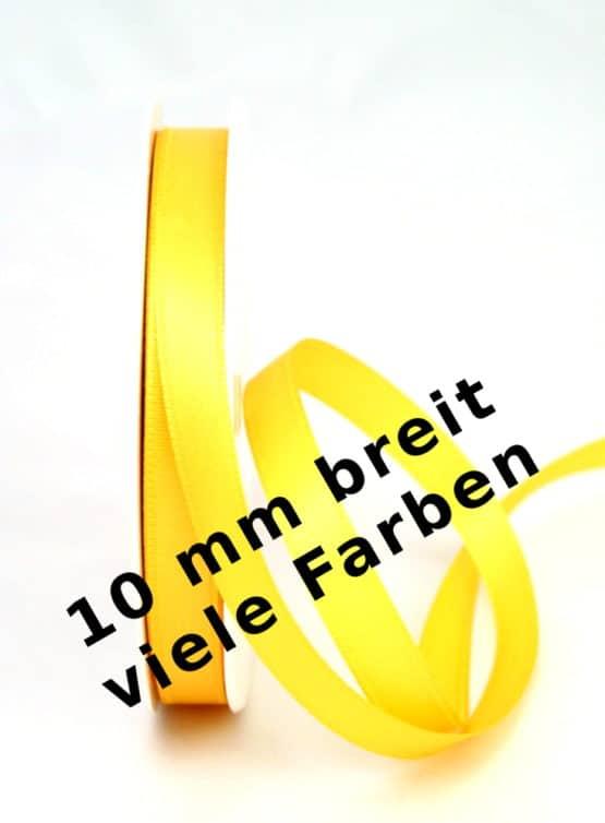 Satinband 10 mm - dauersortiment, satinband