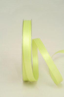 schmales Satinband in apfelgrün