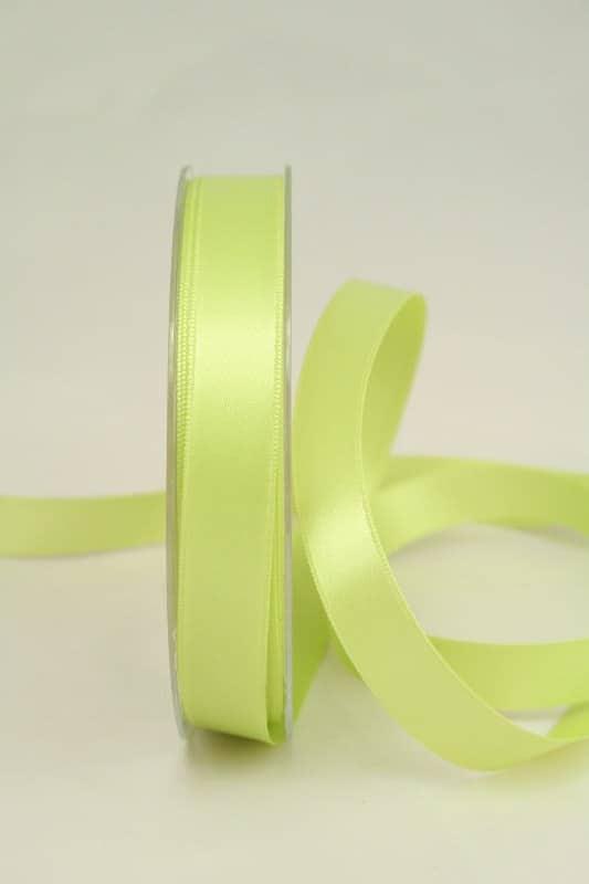 Satinband apfelgrün 15 mm breit