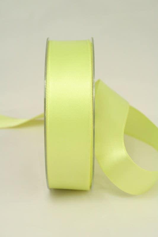 Satinband, 25 mm, apfelgrün