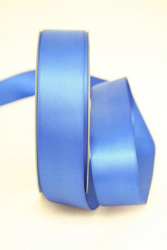 Doppelsatinband, königsblau, 25 mm