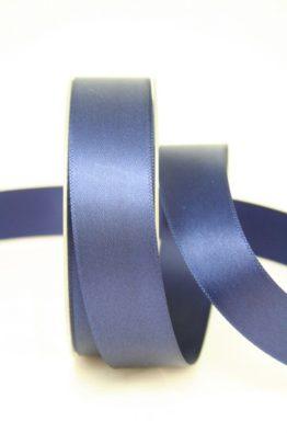 Satinband 25 mm breit in dunkelblau