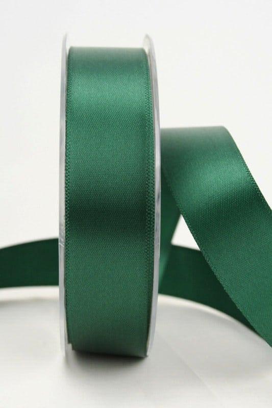 Satinband, 25 mm, tannengrün - sonderangebot, satinband