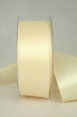 Satinband 40mm creme (22010) Sonderposten für Hochzeit