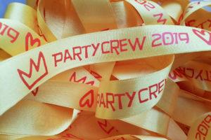 Bedruckte Bänder für JGA und Party - personalisierte-bander