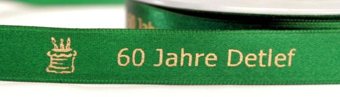 Personalisiertes Satinband - für wichtige Menschen und Anlässe - tischdekoration, satinband, personalisierte-bander