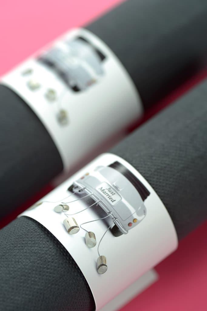 servietten ring just married 6 st ck satinband discount satinb nder richtig preiswert kaufen. Black Bedroom Furniture Sets. Home Design Ideas