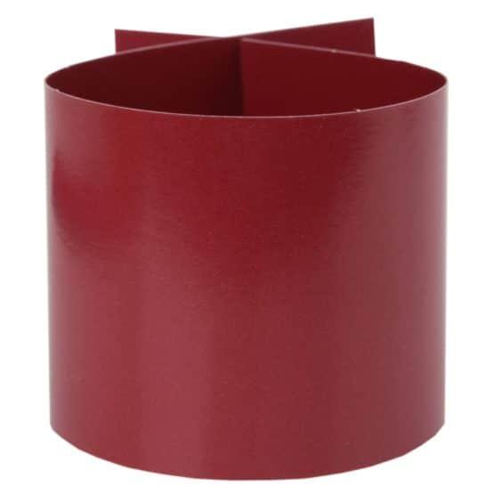 Servietten-Ring bordeaux, 6 Stück - hochzeitsaccessoires