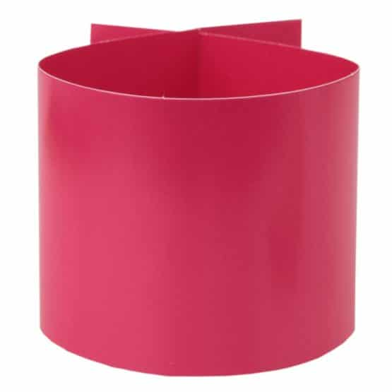 Servietten-Ring pink, 6 Stück - hochzeitsaccessoires