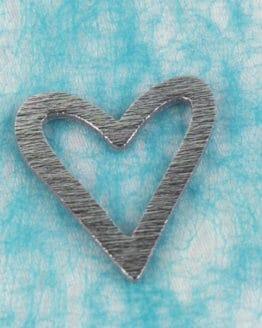 Streuartikel Herz weiß, aus Holz - streuartikel, hochzeitsaccessoires