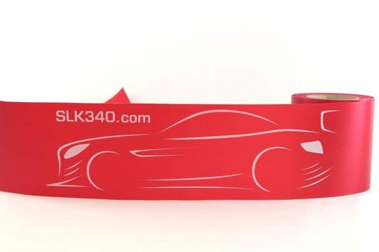 Schärpen, Tischbänder und breite Schleifenbänder individuell bedruckt - personalisierte-bander