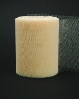 Tüll creme, 100 mm breit - hochzeitsbaender