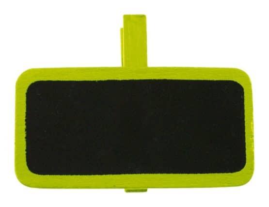 Tafel mit Klammer als Namensschild, grün - hochzeitsaccessoires, kommunion-konfirmation