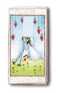 Taschentücher Lovers forever - taschentcher, hochzeitsaccessoires