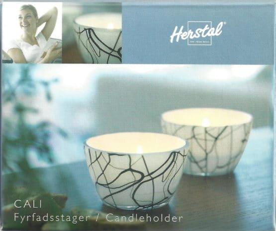 Teelichtgläser Cali von Herstal - 2er Set - geschenke
