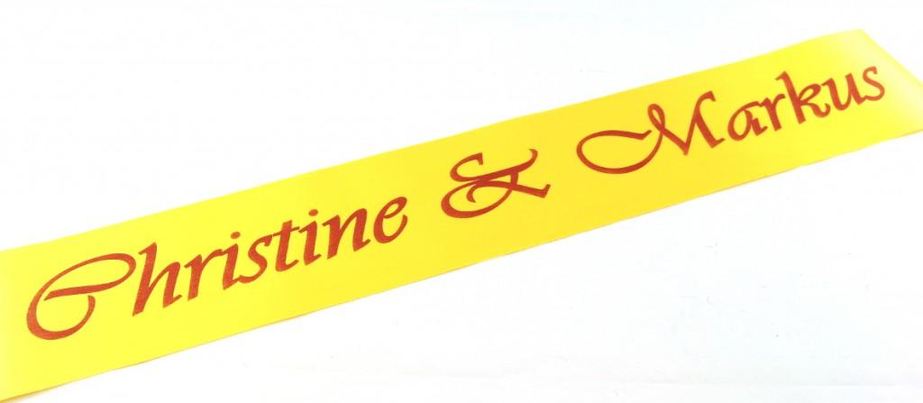 Tischband Hochzeit mit Namen bedruckt_m