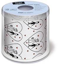 Toilettenpapier Wedding - toilettenpapier, hochzeitsaccessoires