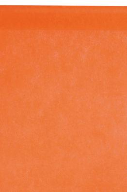 Vlies Tischlaeufer 30cm orange (2810_12)