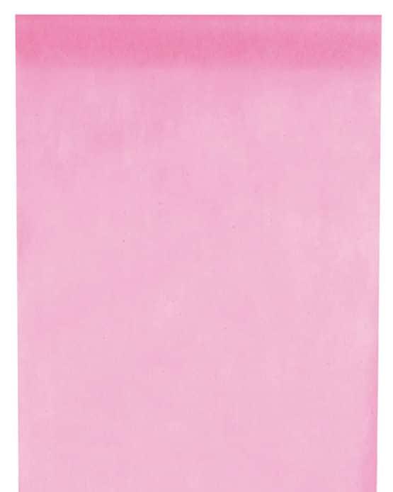 Vlies-Tischläufer BUDGET rosa, 30 cm - vlies-tischlaeufer