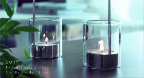 Teelichthalter ZOUP von Herstal, 2er Set - geschenke