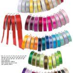 Farben der Bänder, die individuell bedruckt werden können