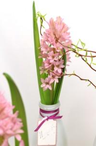 Pfiffige Ideen machen den Unterschied - satinband, floristik